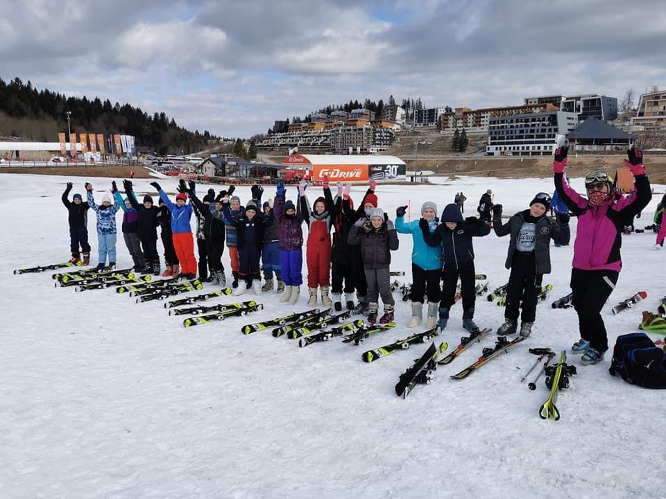 Škola skijanja II dio