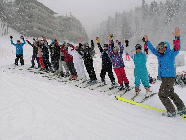 Škola skijanja III dio